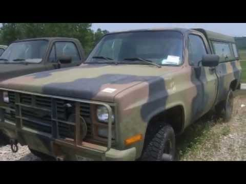 1984 chevrolet pick up 4x4 v8 diesel on youtube. Black Bedroom Furniture Sets. Home Design Ideas