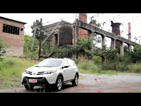 Teste Toyota RAV4 - Vrum
