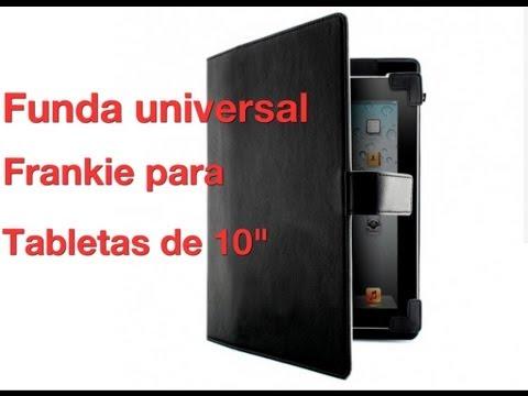 Funda universal Frankie para tabletas de 10