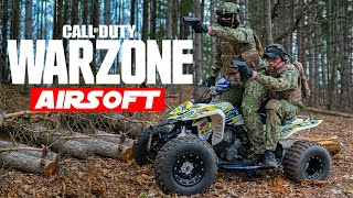 Playing Call Of Duty Warzone In REAL Life! (Airsoft Battle Royale)