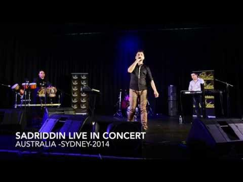 New Afghan Song- Sadriddin Ahmad Zahir Song Live In Concert-2014 Australia video