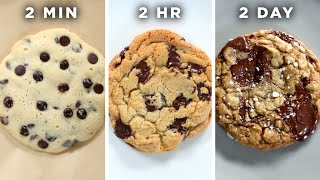 2-Minute Vs. 2-Hour Vs. 2-Day Cookie • Tasty