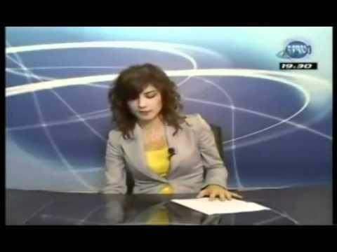 Trabzonlu spiker canlı yayında olduğunu unuttunca...