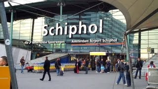 Schiphol Airport Train to Amsterdam Centraal