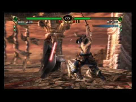 Soul Calibur 4 - Darth Vader vs Mitsurugi