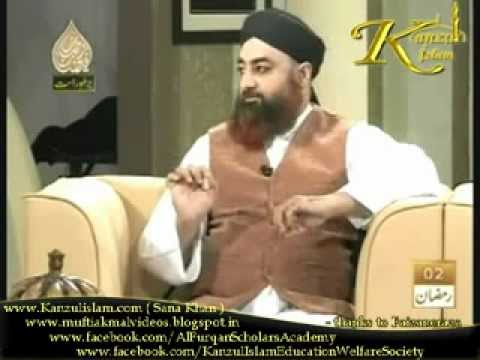 Rehmat e Sehr (2nd Day 2012) Topic: Maayussi By Mufti Akmal(Director Of Al Furqan Scholars Academy)