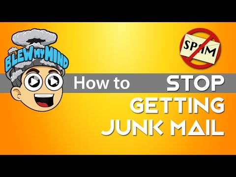 How to eliminate junk mail forever! Only for Gmail and Yahoo users!