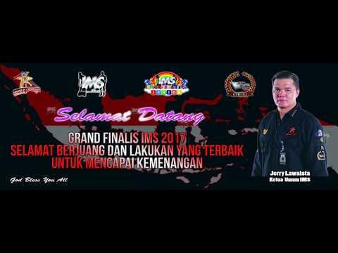 """INDONESIAN MODEL SEARCH 2017 - Pidato Ketua Umum """"Jerry Lawalata"""" di Malam Grand Final"""
