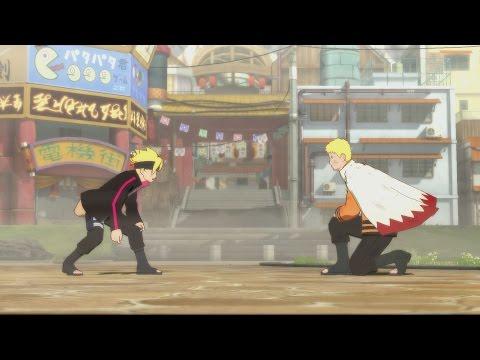 NARUTO vs BORUTO Full Fight! Story Mode Boss Battle Between Father & Son | Road to Boruto [OFFICIAL]