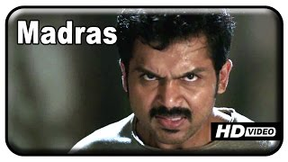 Alex Pandian - Madras Tamil Movie - Karthi kills Vinod | Climax Scene