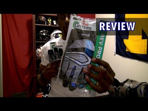 Cutters Rev Pro Football Gloves Review - Ep. 153