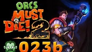 Let's Play Together: ORCS MUST DIE 2 #023 - frostiger Empfang für Orks [Part 2] [deutsch] [720p]