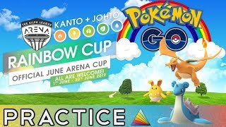 Rainbow Cup Battles | Hydro Cannon | Pokemon Go PvP