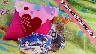 Anime Decorations DIY: Love Live UR Envelope Pocket Pillow + Cards