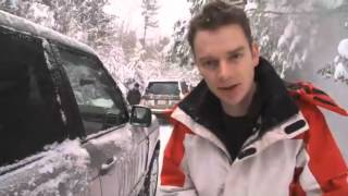 LAND ROVER SNOW DRIVING IN CANADA