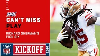 Richard Sherman Responds with a 49ers Pick 6!