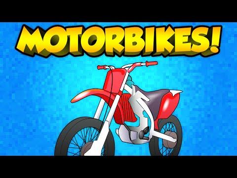 Minecraft Mods - MOTORBIKES IN VANILLA MINECRAFT!!! | (Minecraft Mods Spotlight)