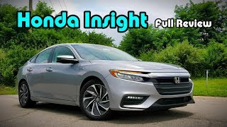 2019 Honda Insight: FULL REVIEW + DRIVE | Good-Looking Hybrids do Exist!