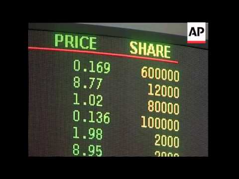 Shares lower following Wall Street losses
