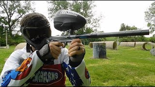 New Shocker CVO Shooting Video - paintball gun test