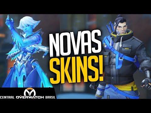 OVERWATCH - NOVAS SKINS EVENTO DE NATAL 2017! - Central