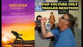 BOHEMIAN RHAPSODY TRAILER #1 REACTION