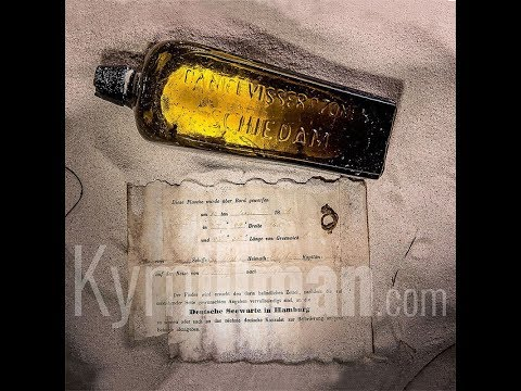 Oldest Message In A Bottle  - Discovering the Bottle