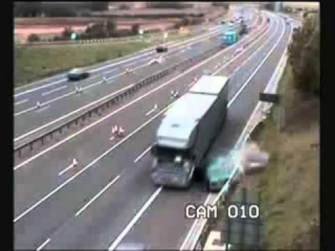 аварии грузовиков  truck accident