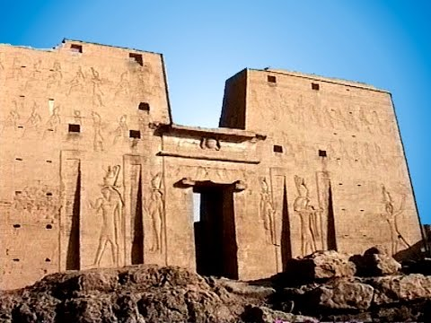 Nilkreuzfahrt 3 - Edfu - Tempel des Sonnengottes Horus - 237 vor Cristus