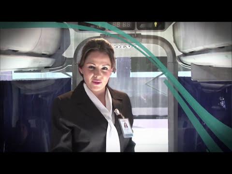 Bienvenida en autobuses ETN