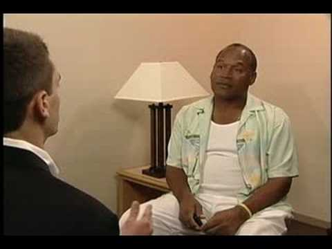 OJ Simpson Interview Part 1