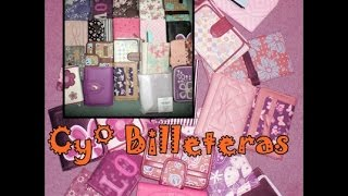 BILLETERAS CYZONE♥Review♥Coleccion♥