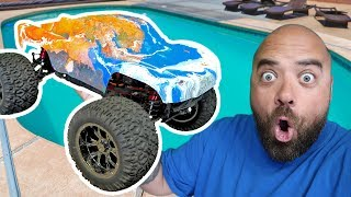 HYDRO DIPPING AN RC TRUCK!