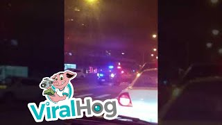 Intense Police Car Chase in Chicago || ViralHog