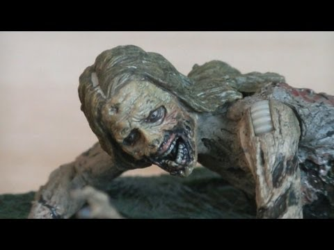 The Walking Dead Bicycle Girl Zombie (TV Series 2) Review