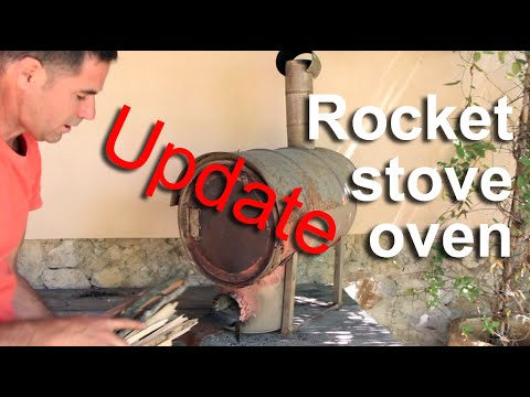 Rocket stove oven - Update - HD