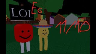 Eg THE BEST GAME ON ROBLOX!!!1!