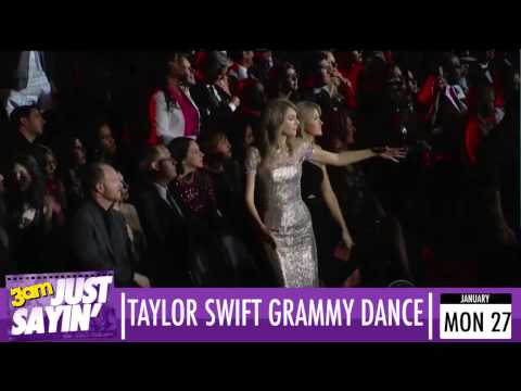 Taylor Swift's hilarious dancing at the Grammys 2014 looped at multiple speeds - Just Sayin'