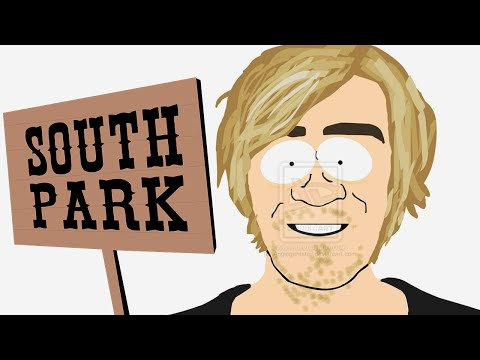 I WAS ON SOUTH PARK!