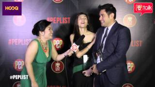 PEPtalk. Jennylyn Mercado and Gabby Eigenmann on the challenging roles that won them their awards