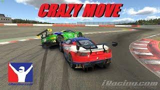 IRacing - Crazy Move - Ferrari 488 GT3 Fixed Series At Spa