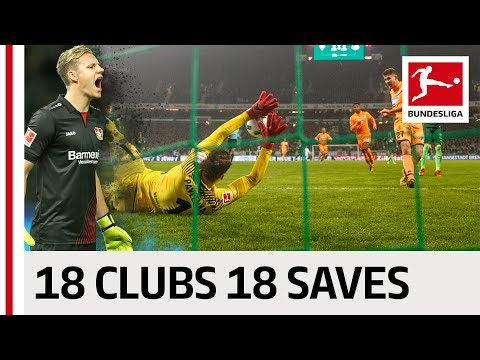 18 Clubs, 18 Saves - The Best Save By Every Bundesliga Club in 2017/2018 thumbnail