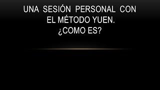 Una sesion personal