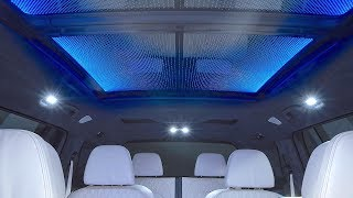 BMW X7 SkyLounge 15,000 LED Glass Roof BMW X7 Interior Panorama Sunroof Full Length CARJAM