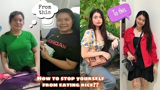 NO RICE DIET *how to stop yourself from eating rice?*