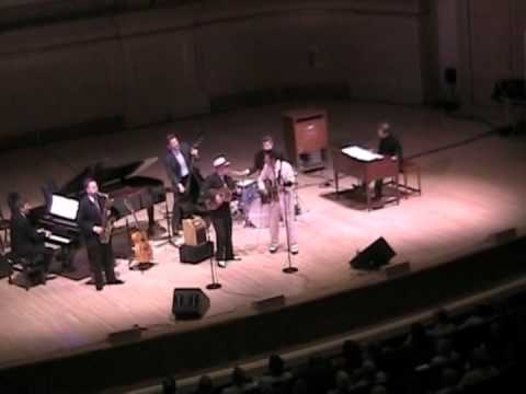 Grover Kemble with John Pizzarelli at Carnegie Hall