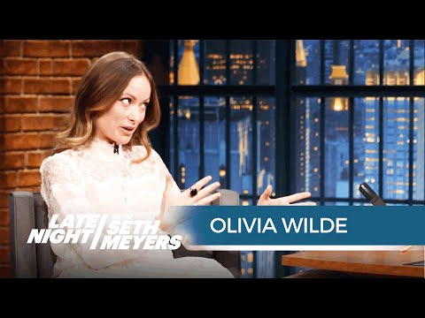 Olivia Wilde on Getting Naked for Vinyl