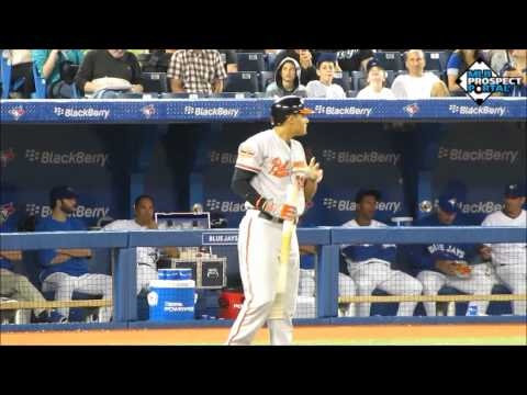 Manny Machado Prospect Video, SS, Baltimore Orioles
