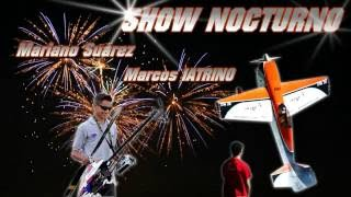 Night Show - RC Helicopter + RC Airplane  | Marcos IATRINO & Mariano Suarez