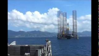 view from the vessel - T&T Spirit.wmv